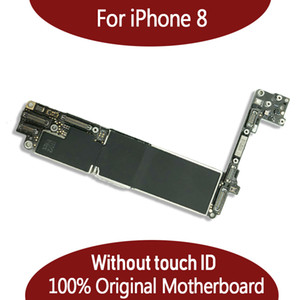 64GB 256GB original motherboard for iPhone 8 4.7inch without fingerprint without Touch ID IOS system logic board free shipping