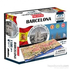 Wholesale 4D Cityscape Barcelona Skyline Time Ship from Turkey