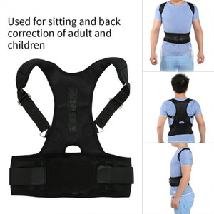 Wholesale Magnetic Therapy Adult Spine Support Belt Back Shoulder Waist Corrector Pain Relief Posture Correction Brace Corset Shapers
