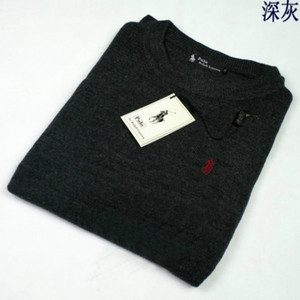Wholesale New High Quality polo Men s Twisted Needle Sweater Knitted Cotton Round neck Sweater Pullover Sweater Male size S XXL
