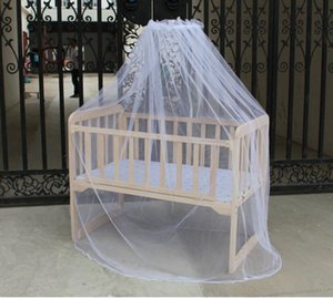 Wholesale 2020Wholesale Fashion Mosunx Business Hot Selling Baby Bed Mosquito Mesh Dome Curtain Net For Toddler Crib Cot Canopy