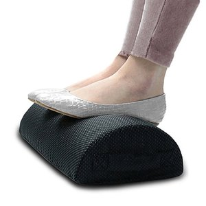 Wholesale Comfort Foot Rest Pillow Cushion Memory Foam Under Office Desk Half Cylinder Home Foot Relax Pain Relief Relaxing Cushion Pad