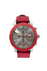 Paco Loren Steel Cord Red Box Men's Watches st658