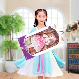 Wholesale 38cm Super Big baby Doll Gift Set beautiful Wedding princess dolls styles Movable joints girls dolls Girl s Christmas birthday present toy