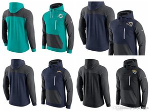 2019 NEW men's Miami Los Angeles Dolphins Los Angeles Jacksonville Chargers Jaguars AV15 Fleece Pullover Hoodie on Sale