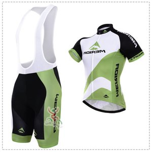 New White Green Merida Cycling Clothing  bike Sport Bicycle Road Cycling Jersey Short Sleeve  Cycling Wear breathable quick Dry