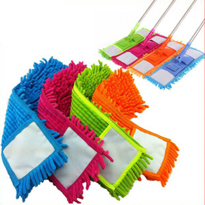 Wholesale 4 Colors Home Cleaning Pad Refill Household Dust Mop Head Replacement Suitable For Cleaning The Floor Soft Texture Practical