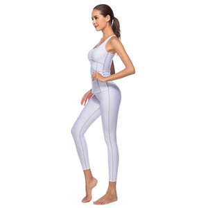 Fashion women's sportswear backless sports training track and field clothing women's running tight-fitting gym yoga suit