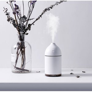 Wholesale White ML Ultrasonic Air Humidifier for Home Aroma Essential Oil Diffuser Humidifiers Water Mist Maker with Colorful LED Light