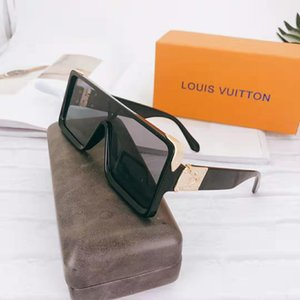 Wholesale Designer Brand sunglasses High quality luxury Adumbral Glasses Colors Unique European and American jelly colored lenses sunglasses