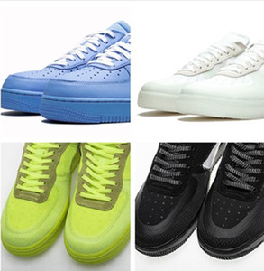 Wholesale one round for sale - Group buy With Box Blue White Men Moma MCA Casual Shoes ReMd etallic Silver Volt Low Black And Green One Offs Casual Designer Shoes US5
