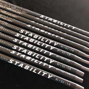 golf clubs STABILITY 1.0 carbon steel combined putters rod shaft golf shaft black technology shaft on Sale