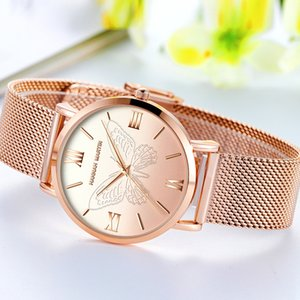 3D Butterfly Women's Watch, British Niche, Super Fire temperament Luxury Quartz unique watches