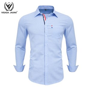 Wholesale collars for shirts for sale - Group buy Men Shirts Korean Clothes Dress Formal Blouse For Man Regular Fit Red Shirt Green Collared Long Sleeve Vestidos Casuales Kleding