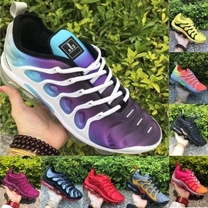 Wholesale NEW Release Tn Plus Bumblebee Grape Photo Blue Grey Bright Crimson Mens Running Shoes Womens Trainers Designer Sneakers Eur