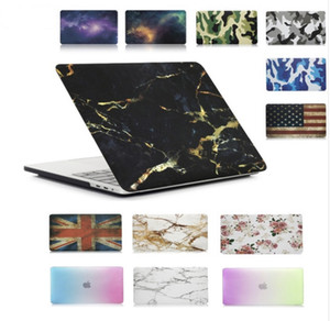 Painting Hard Case Cover Starry Sky Marble Camouflage Pattern Laptop Cover for MacBook New Air 13'' 13inch A1932 Laptop Case