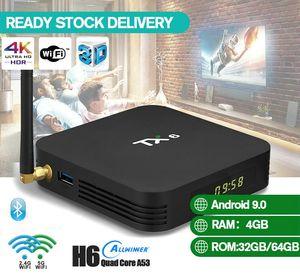 Android TV Boxes 2GB 4GB 16GB 32GB TX3 Mini S905W H6 RK3228A Dual Wifi 2.4G+5G BT Smart TV Box PK H96 Max