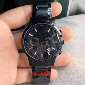 Wholesale Drop Shipping men watch AR2453 AR2448 AR2434 AR2452 AR2454 AR2458 AR5860 AR2432 AR2433 AR2471 AR2473 men chronograph quartz Wristwatches