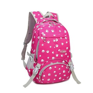 Wholesale Big Capacity New Hearts Printing Girl School Bag Kid Backpack Zipper Backpacks School Bags For Teenagers Girls Satchel