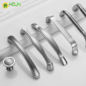2pcs Steel Cabinet Handles and Knobs Kitchen Cupboard Handles Drawer Pulls Multi Design Z-0811