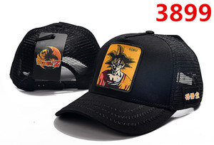 Wholesale 2019 new hats Dragon Ball anime character pictures High quality adjustable baseball caps Men and women caps Student hats