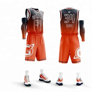 custom New Kids Basketball Jersey Sets Uniforms kits Child Sports clothing Breathable Youth basketball jerseys shorts DIY printing jersey on Sale