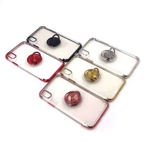 Wholesale Fashion Transparent Phone Case TPU Bumper Cover For IPhone XS Max XR X Plus Dirt resistant Cellphone Back Shell