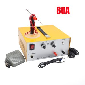 Wholesale DX80A laser spot welding hand held pulse spot welder welding machine welding machine gold and silver jewelry processing