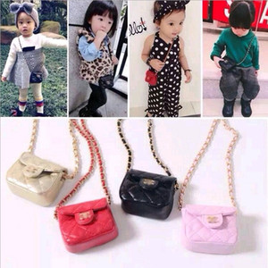 Girls MINI Handbags Kids Purse Cross-body Bags 2019 Fashion 5 Colors Kids Girls Shoulder Bag Children Candies Bags Christmas Gifts Wallets