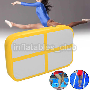 Free Shipping Inflatable Air Board For Sale DWF 1*0.6*0.1m Airtrack For Gym Mini Size Air Track Mat Cheap Price Home Use Air Track Mats on Sale