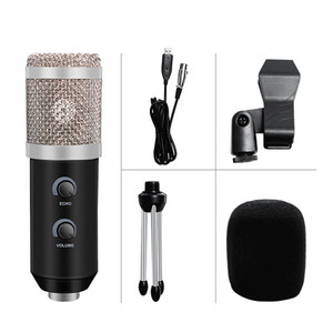 Wholesale usb microphones for sale - Group buy bm Podcast Recording USB Condenser Microphone Professionnel Upgraded BM Karaoke Mikrofon For Computer Studio YouTube Mic