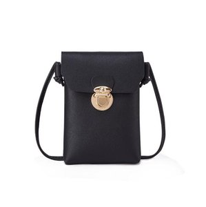 Girls'bags, locks, recreational square bags, one-shoulder oblique handset bags