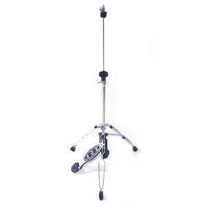 Wholesale Professional Pedal Control Style Drum High Hat Cymbal Stand with Pedal Accessories Silver and Black Color