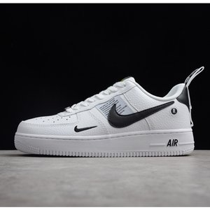 Hot brand airlis mens womens fashion designer shoes sneakers af1 all white black forces 1 one cheap sale