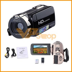 Wholesale JRGK HDV P Camera MP HD P quot LCD Screen Digital Video Camcorder with x Zoom DV Video Cameras