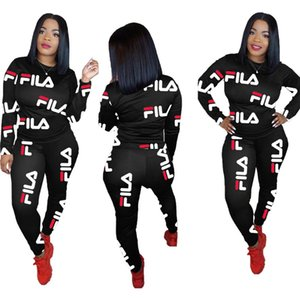 Wholesale Women sweat suit Hoodies Pants Piece Set Outfits Leggings Long Sleeve Tracksuit Crew Neck Sweatshirt Fall winter Fashion Clothing