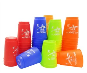 Wholesale High quality fly stack cup boxed pure version speed stack cup saucer cup game special educational toysA20190817