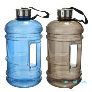 Wholesale half gallon water bottle for sale - Group buy Large L Half Gallon Gym Workout Running Convinients Fitness Water Jug Drink Bottle Fc01