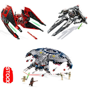 Star 2019 Wars Destroyer Ace Tie Interceptor Fighter Droid Gunship Lepinblocks Toys Lepining 75240 75242 75233 75179 Plan BB-8 CX200613