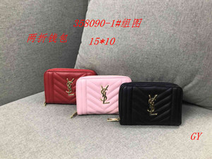 Wholesale Fashion Brand designer women wallets zipper wallets handbags for girls mini coin purse Card package Ladies clutch bag