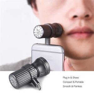 Wholesale Portable Smart Phone Shaver Mini Razor D Floating Travel Smartphone for Iphone Android Micro OTG Electric Beard Razor