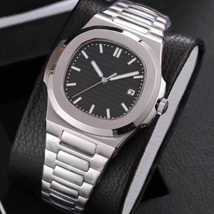 19 colors mens watch automatic movement Glide sooth second hand sapphire glass silver watches mechanical wristwatch