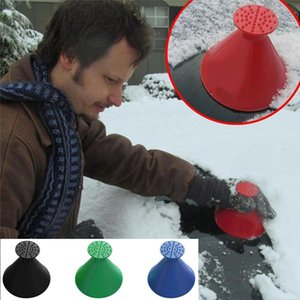 New Scrape A Round Ice Scraper Car Windshield Snow Scraper Cone Shaped Ice Scrapers Simple And Easy To Get Snow Off Your Car