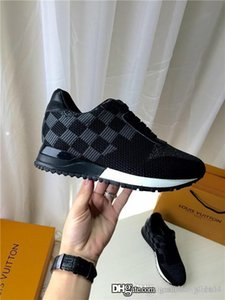 Wholesale New Luxury designer shoes RUN AWAY SNEAKER 477329 Men and women with the same paragraph Fashion sneakers Size female 35-42 male 39-45