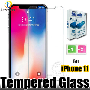 Wholesale For iPhone Pro XS Max XR X Screen Protector D mm H Tempered Glass with Retail Package