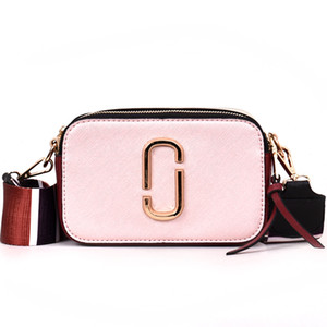 Wholesale Designer- Women's Designer Handbag 2019 Fashion New Female bag High quality PU Leather Women bag Simple Hit color Portable Shoulder bags