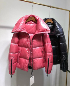 Wholesale Free shopping HOT Women Winter Jackets M Brand waterproof Down Jacket Womens Warm Down Coats Thickening Female Clothes Parka red black