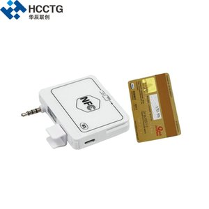 Wholesale 3 mm Headphone Encrypted Android IOS Mobile NFC Card Reader HeadPhone Jack Magnetic Card Reader ACR35