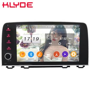 Wholesale Klyde quot IPS G Android Octa Core GB GB ROM DSP BT Car DVD Multimedia Player Radio Stereo For Honda CRV CR V