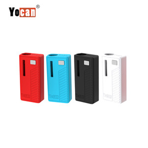 Wholesale box mods resale online - Authentic Yocan Rega Battery Mod mAh Box Mod Variable Voltage With Magnetic Adapter Preheating Vaporizer Fit Thick Oil Cartridge